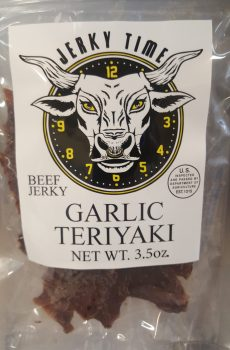 garlic teriyaki