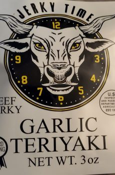 garlic teriyaki